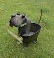 métal planteur pots de fleurs avec la forme animale