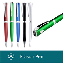 2015 New Twist Open Light Pen,Magnifier Light Pen,Light Inside Pen