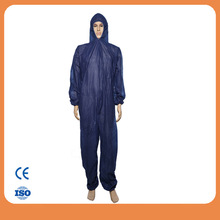 hospital consumable CE/IS013485 approved PP non woven overalls medical clothing disposable coveralls