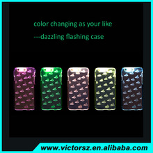 New Arrival PC Case for iphone 6 /6plus ,Dazzling Flashing Case for apple iphone 6 Cool Case
