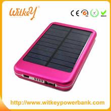 Portable universal solar mobile charger 5000mah