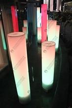 Wholesale Inflatable PVC LED lighting pillar for advertising