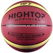laminated basketball / synthetic leather basketball/good quality basketball