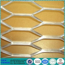 Low Carbon Steel &Aluminium Hexagonal Pattern Expanded Metal Mesh