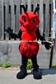 De color rojo precioso traje de hormiga/traje de insectos