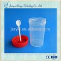 de alta calidad 2oz 60ml hospital taza de orina muestra contenedor