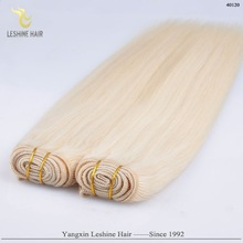 No Tangle No Shed Wholesale Price Russian Human Hair white extensions no yellow