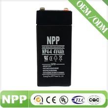 4v4ah smf rechargeable 4 volt storage battery