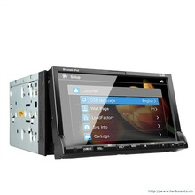 Car DVD for WINCE 6.0 system CAR GPS NAVIGATION SYSTEM GPS/ Bluetooth free video x china