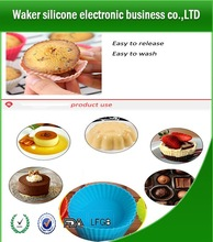 Design Best Selling Cup Shape Silicone Baking Molds