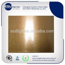 China manufacture sparking metallic gold powder coating paint