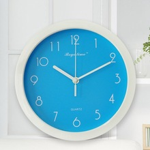 Promotional crystal wall clock for christmas gift
