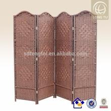100% hand Weaving Household Paper Rope FoldingHousehold using Hand Woven Paper Rope Folding Movable partitions