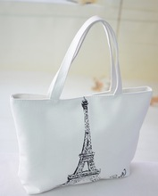 2015 fashion style canvas cross body bags standard size canvas tote bag
