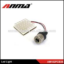 high quality hot car led lamp/ car led tuning light