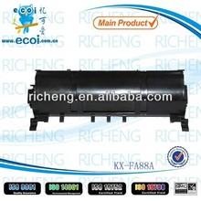 toner price for compatible toner cartridge for KX-FA88A/90E toner powder in china