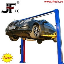 High quality automated two post car lift ramp storage