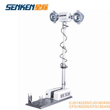 truck and police car top mounted night scan tower light and telescopic high mast Light