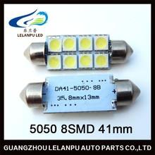 41mm 5050 8SMD led auto festoon lighting bulbs