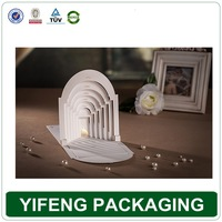 Wholesale luxury alibaba china folding laser cut 3d wedding invitation card
