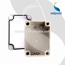Saipwell/saip din rail terminal enclosure(DS-AT-1212,outdoor/indoor, abs/pc/pvc/fiberglass,IP65/IP66/IP67 )