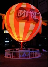 Outdoor Advertising Ginat Lighting Inflatable Balloon