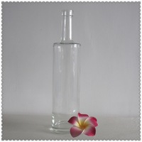 Fabric glass bottles empty glass vinegar bottles