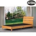 أرخص سرير من الخشب الحديثة/ دائم أثاث غرف النوم/ ضارةسهلة الطلاء تخزين سرير
