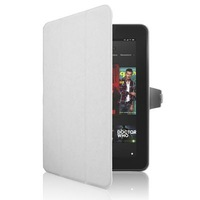 ENK-7200 Protective PU Leather Case Cover with Sleep / Wake-up Function & Holder for Amazon Kindle Fire HD 8.9 (White)