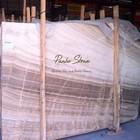 First Quality Onyx Wood Marble Slab