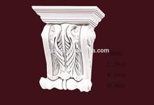 el peso ligero de poliuretano decorativas ménsulas para la decoración de la pared