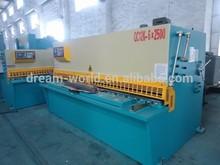 Anhui SLMT QC12K-25X3200 cutting blades for shearing machine,cnc sheet metal shearing machine