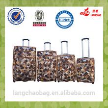 Pu luggage bag stock Promotion BV certificate suit luggage bag Promotion factory price China luggage bag stock