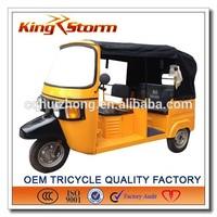 bajaj threel wheel Hight quality Tuk Tuk tricycle for hot sale