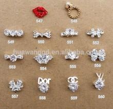 Wholesale 3d nail charms/finger nail charms/nail art supplies