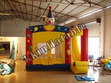 Clown Jumping inflatable combo Inflatable Games for kids indoor use