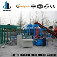 QT4-15 large capacity automatic concrete paver machine for sale