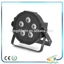 5*10w rgbw led par light/ 4in1 dmx ultra thin led par stage light