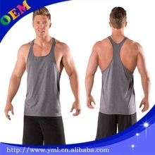 Blank Gym Mens Stringer Singlet Wholesale Custom Stringer Tank Top