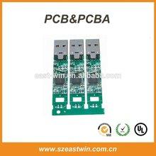 OEM usb flash drive printed circuit board PCB & PCBA manufacturer