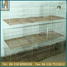 galvanized iron wire rabbit cage breeding cage