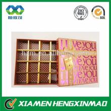 Hot sale celebrations chocolate box;chocolate praline box