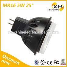 LED Spotlight Manufactory Supply 410LM-455LM MR16 5w GU 5.3 LED Spotlight Dimmable