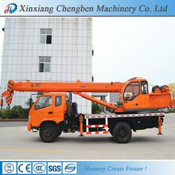 Rich Manufacturing Designed Telescopic Truck Crane