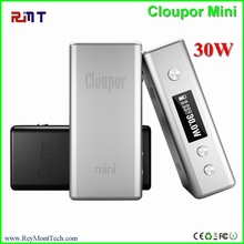 HOT HOT in the wolrd 0.45ohm Cloupor mini 30watt box mod vv/vw