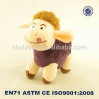 Standing Cute Stuffed Sheep Plush Toy Soft sheep lamb