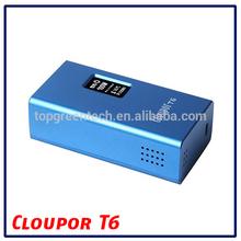 e cigarette hong kong electronic cigarette case T6 100w mod chip/wax vaporizer