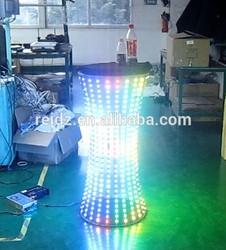 advertising inflatable led pillar illuminated bar table led LED furniture display table for shop