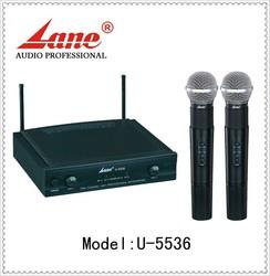 Lane *U-5536 UHF Mini uhf cheap wireless microphone for singing/meeting/performance