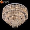 Moderno meerosee lustre candelabros de cristal de la boda de araña de cristal de luz om9032-90